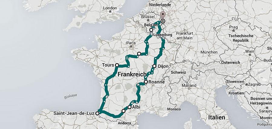 2.971 km Frankreich (0/7)