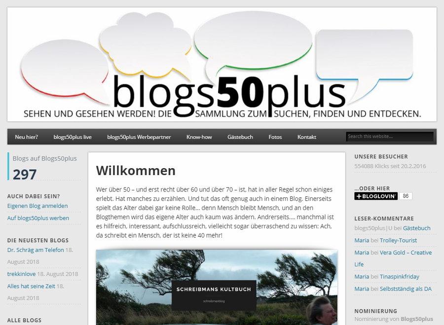 Aus der Werkstatt von blogs50plus.de