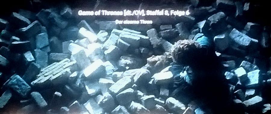 Früh aufstehen fürs Finale von Game of Thrones