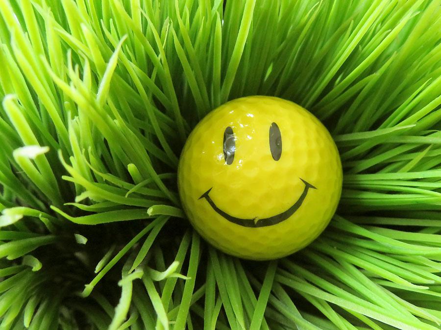 Golf und Grün