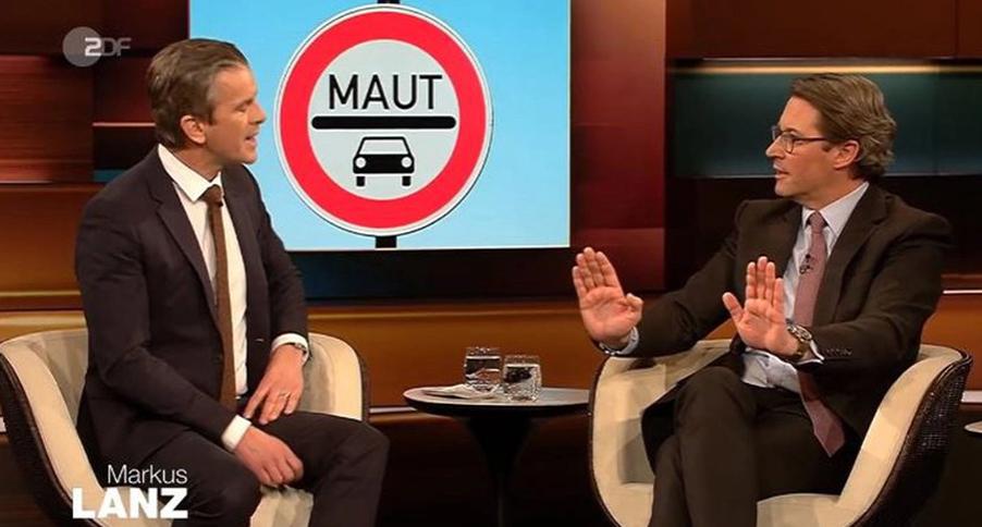 Gestern abend im ZDF: Scheuer bei Lanz